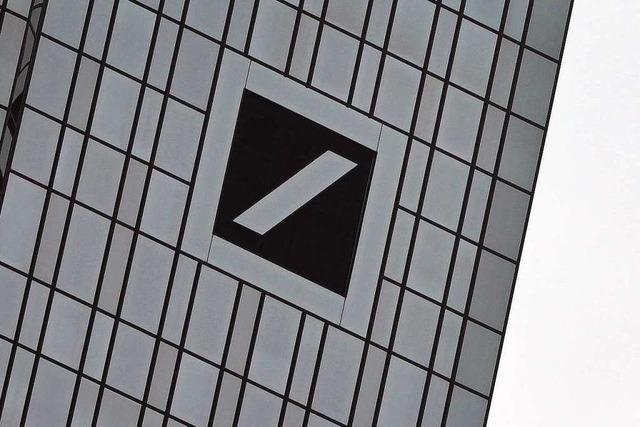 Deutsche Bank macht Milliardenverlust
