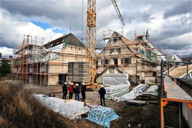 Baustellen-Rundgang durch St. Georgens künftigen Stadtteiltreff