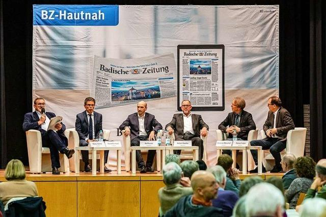 Großes Interesse am BZ-Talk mit den Buchenbacher Bürgermeister-Kandidaten