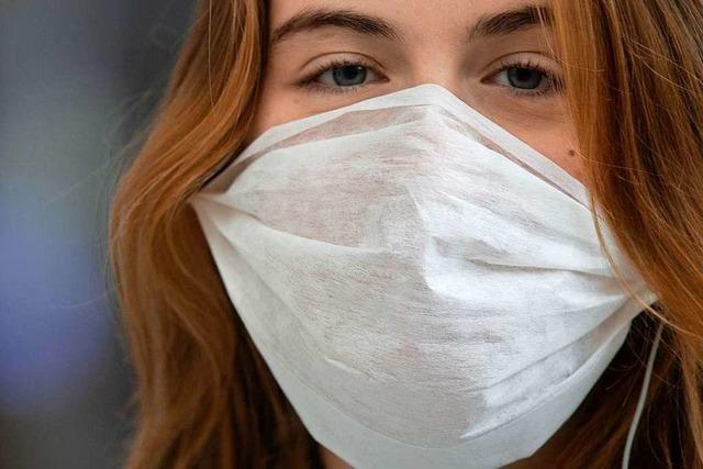 Gesichtsmasken sind in Apotheken in Lörrach sehr gefragt