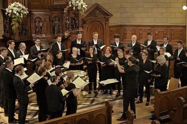 Zürcher Vokalisten mit Chrysostomos-Liturgie in Rheinfelden