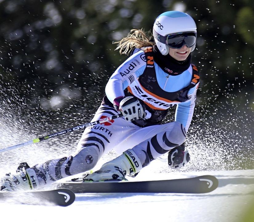 Platz eins im Riesenslalom: Chiara Horning vom SC Muggenbrunn   | Foto: Dieter Horning-Wiesler