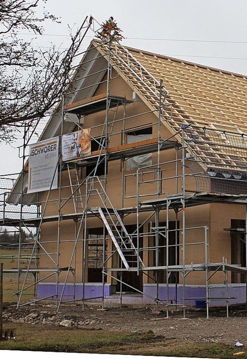Das neue Backhaus am Ziegelhof  | Foto: Christa Maier