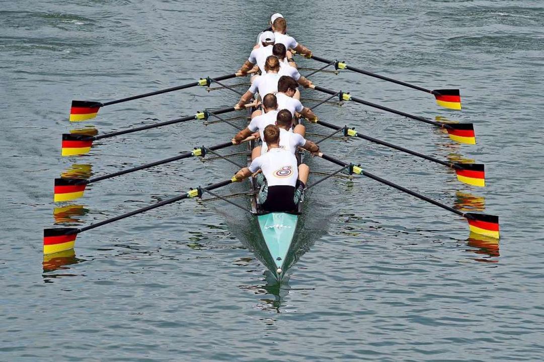 Der Deutschland-Achter  | Foto: Caroline Seidel