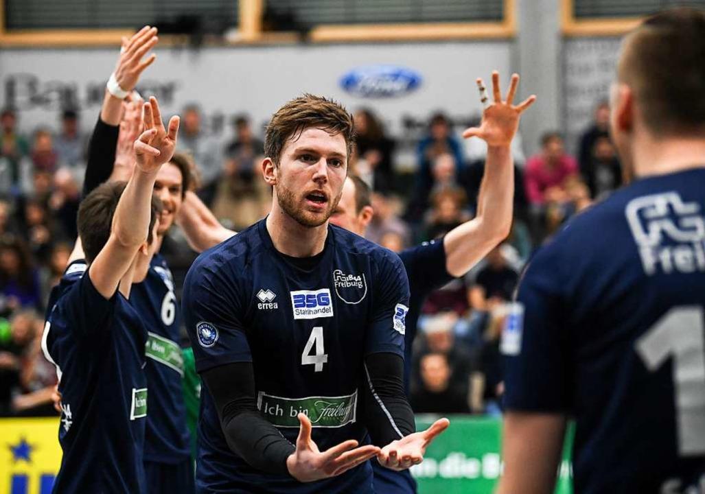 Er will immer gewinnen und kann Emotionen zeigen: Oliver Hein  | Foto: Patrick Seeger