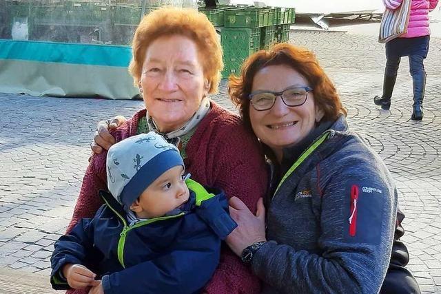 Irmgard Grässlin aus Mappach – Marktfrau mit Leib und Seele