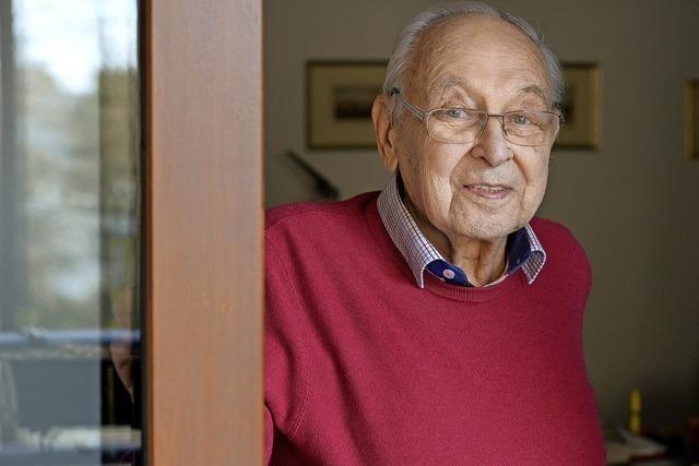 Der Pharma-Pionier Kurt Heinz Bauer feiert heute seinen 90. Geburtstag