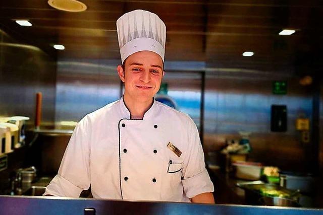 Dennis Baumer aus Oberwinden – als Kreuzfahrt-Koch ist er ein Globetrotter