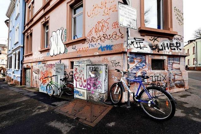 Illegale Graffiti bleiben Dauerthema in Freiburg