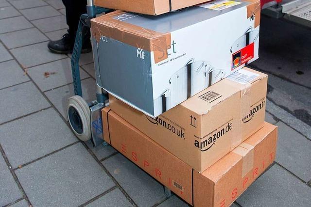 In Stockholm nehmen Paketboten gleich den Müll mit