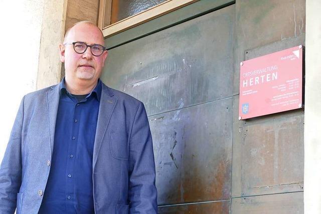 Frank Michael Littwin macht neue Erfahrungen in Herten