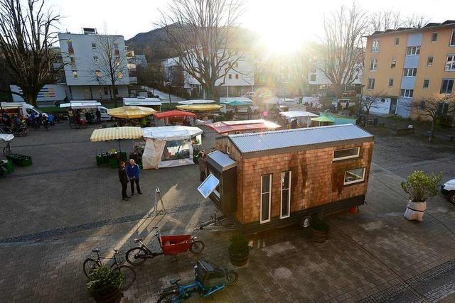 Drei Einrichtungen in Freiburg-Vauban wollen ein Tiny House