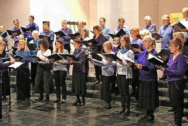 Kammerchor SchöneTöne in Müllheim