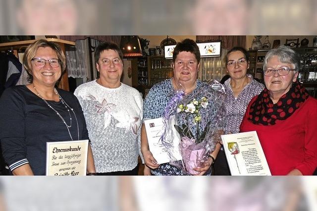 Brigitte Heer zum Ehrenmitglied ernannt