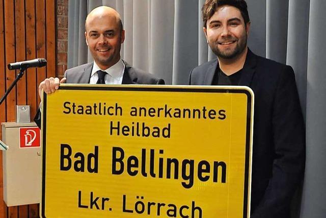 Neujahrsempfang in Bad Bellingen
