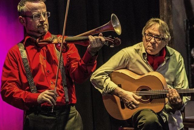 Das Duo Arrabalero ist erneut zu Gast in Gallaghers Nest