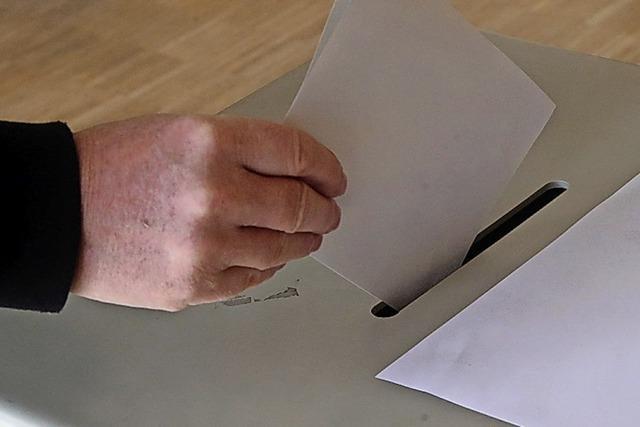 Mehr als 434 Buchenbacher haben bereits gewählt