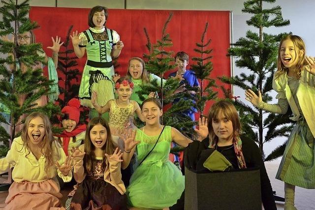 Uraufführung des Kinderstücks mit jungen Schauspielern
