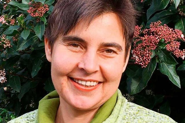 Vera Jeschke will das Direktmandat für die Grünen