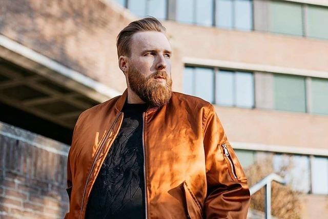 Vollbart als Markenzeichen: Daniel Schneider arbeitet als Plus-Size-Model
