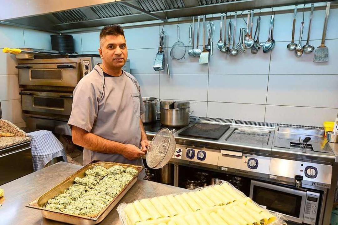 Koch ist  Asad Chattha.    Foto: Ingo Schneider
