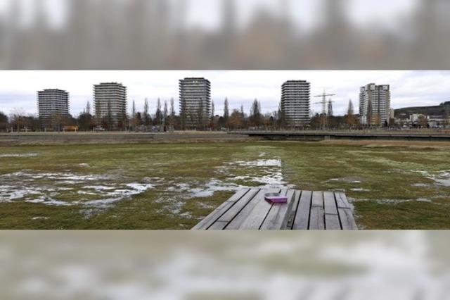 Der See ist fast leer