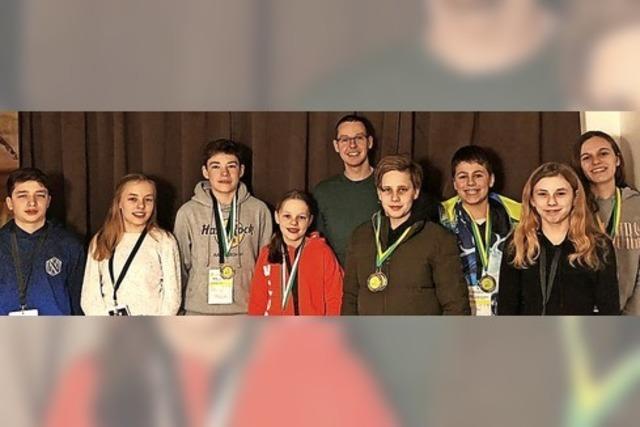 SSVG-Schwimmer holen gleich zwölf Medaillen