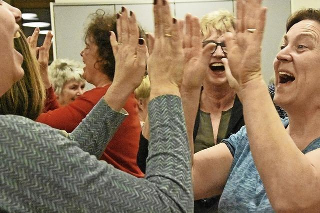 Lachen ist gesund – da sind Lachfalten ganz egal
