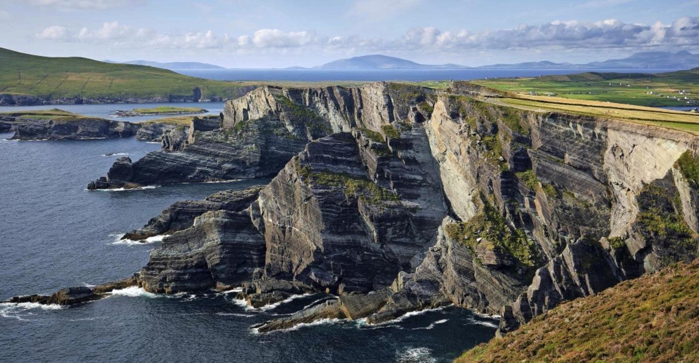 Die Cliffs of Kerry sind eine der atem...lang des Wild Atlantic Way in Irland.   | Foto: Marco Schweier