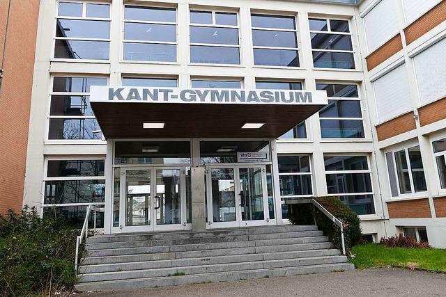 Die Demos müssen ein Ende haben, sagt der Rektor des Kant-Gymnasiums in Weil