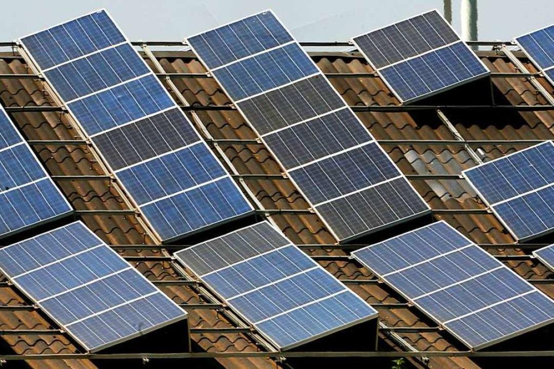 Die Firma setzt unter anderem auf Photovoltaik  | Foto: Roland Weihrauch