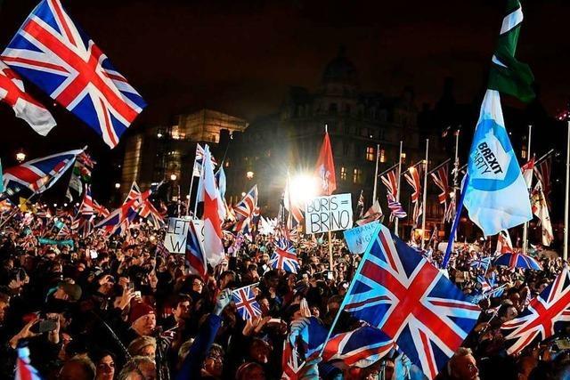 Der Brexit ist da: Großbritannien gehört nicht mehr zur EU