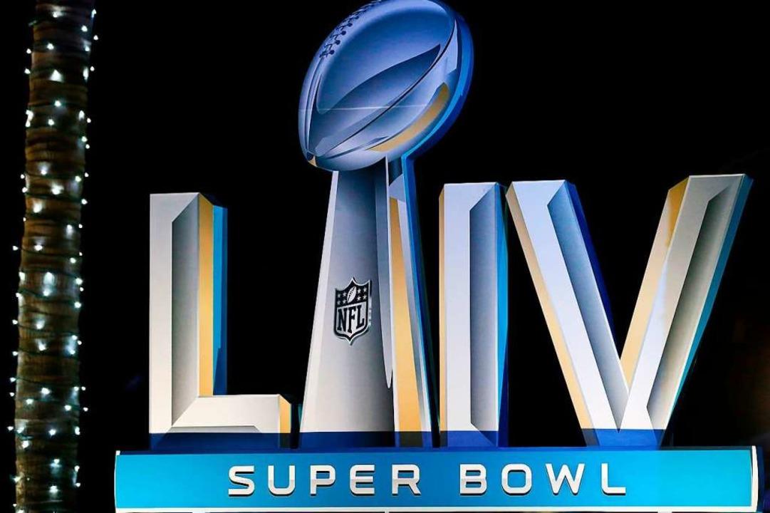 Der Super Bowl steigt in Miami.    Foto: Cliff Hawkins (AFP)