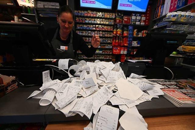 Kassenzettel-Pflicht nervt Händler und Kunden – Finanzamt wirbt um Verständnis
