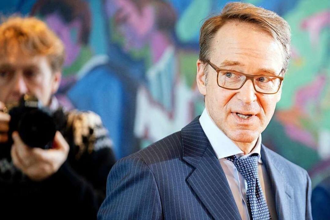 Bundesbank-Präsident Jens Weidmann   | Foto: Kay Nietfeld (dpa)