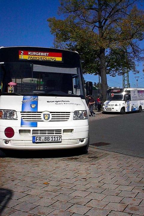 Ein Konzept, das seit 15 Jahren in Bad...er Bürgerbus ergänzt das ÖPNV-Angebot.  | Foto: Verein
