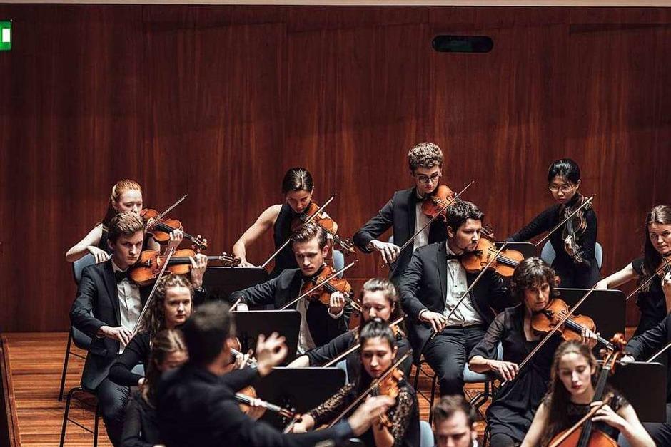 Am Freitagabend spielte das Freiburger Studierenden-Orchester im Konzerthaus. (Foto: Fabio Smitka)