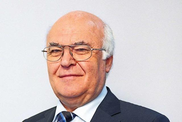 Der Unternehmer Martin Herrenknecht bezahlt weiterhin die Pfarrstelle in Allmannsweier