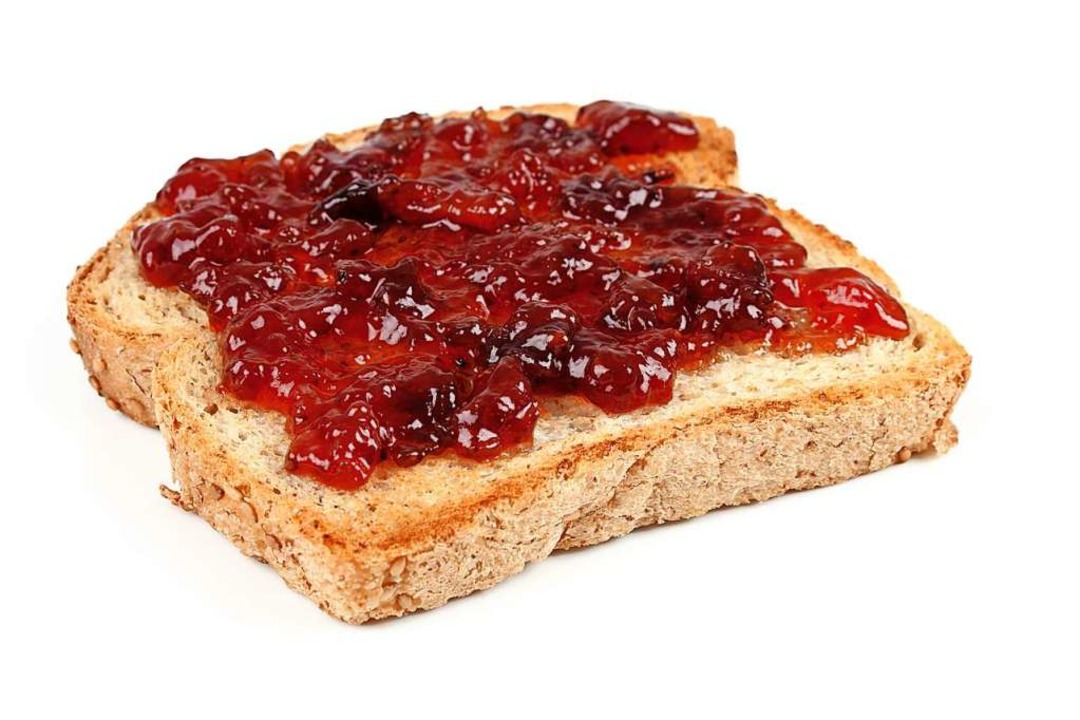 Warum landet ein Marmeladentoast meistens ausgerechnet auf der Marmeladenseite?    Foto: gmeviphoto (stock.adobe.com)