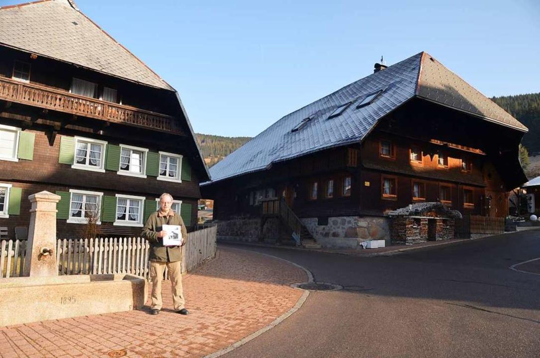 Die Häuser Lorenz Dietsche (links) und...gang einige der Schauplätze des Films.  | Foto: Christiane Sahli