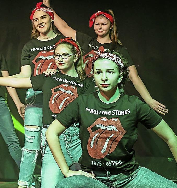 Dynamisch: die Teenies der Gelruewe-Ritter  | Foto: Sandra Decoux-Kone