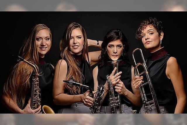 Die Jazzabellas aus Mannheim spielen am Montag in Freiburg