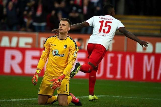 Schwache Freiburger sind mit der 0:4-Niederlage in Köln noch gut bedient