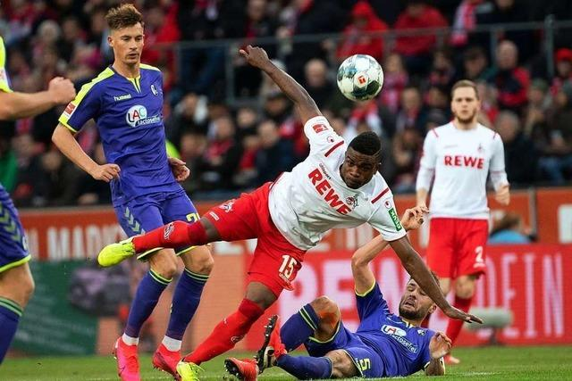 Robin Koch ist bei der 0:4-Pleite in Köln bester Freiburger