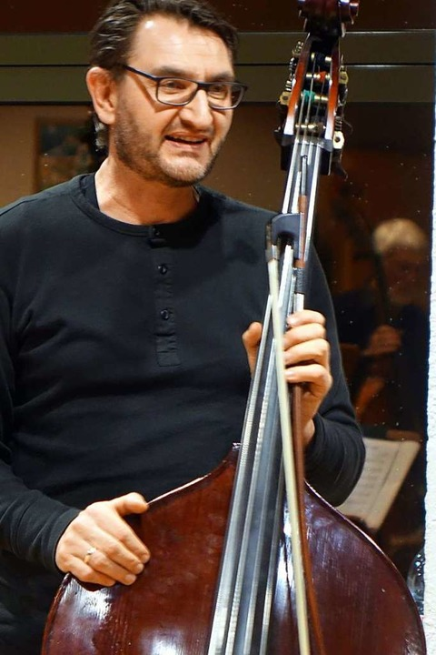 Musiklehrer Bernd Schöpflin  | Foto: Roswitha Frey