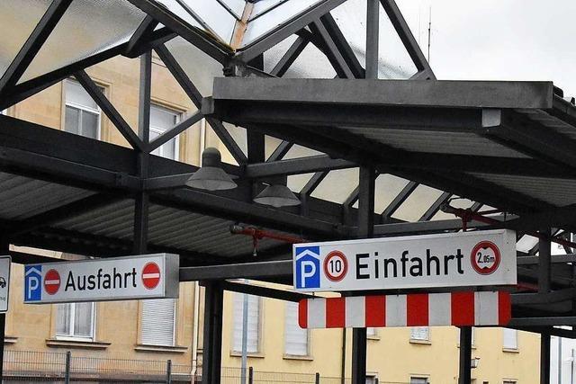 Die Stadt Lörrach will mit ihren Parkhäusern mehr Geld einnehmen