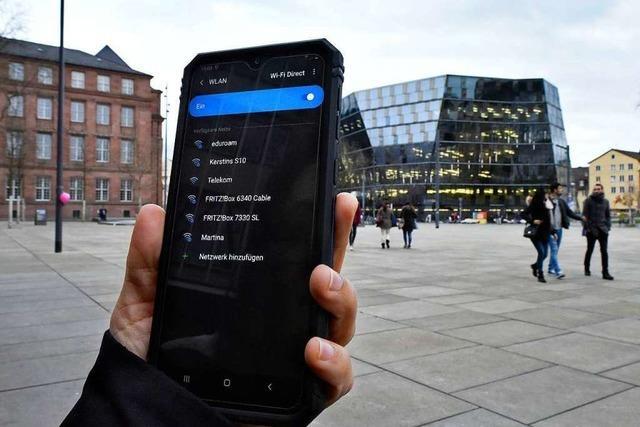 Öffentliches WLAN in Freiburg würde mindestens 1,8 Millionen Euro kosten