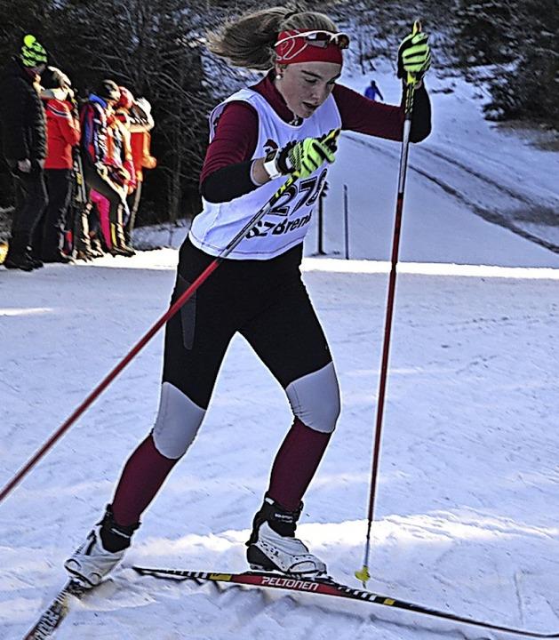 Mali Brugger wurde im klassischen Distanzrennen Elfte.  | Foto: Junkel