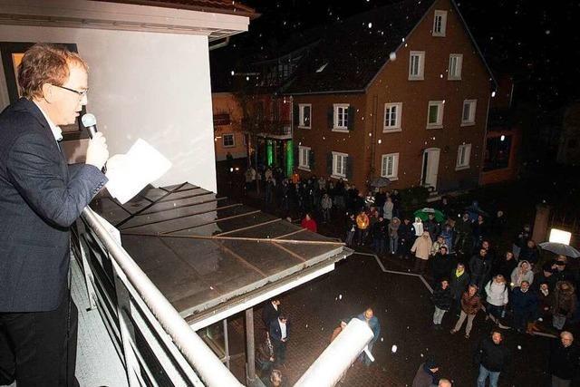 Fotos: Eindrücke vom großen Wahlabend in Heitersheim