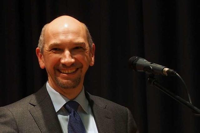 Ralf Kaiser ist neuer Bürgermeister von Buchenbach